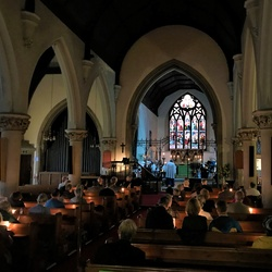 '1940'  Candlelit Choral Evensong a great success