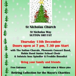 Mayor's Family Christmas concert at St Nicholas